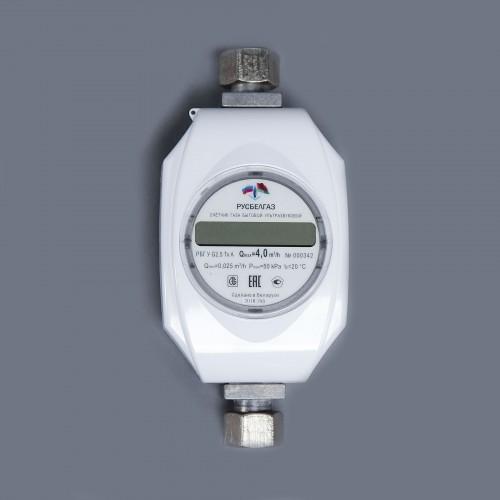 Счетчик газа РБГ У G 2,5 (для газовой плиты + газовая колонка)