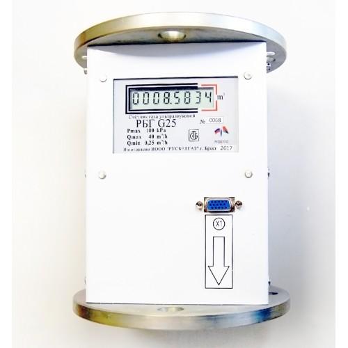 Счетчик газа ультразвуковой РБГ G25